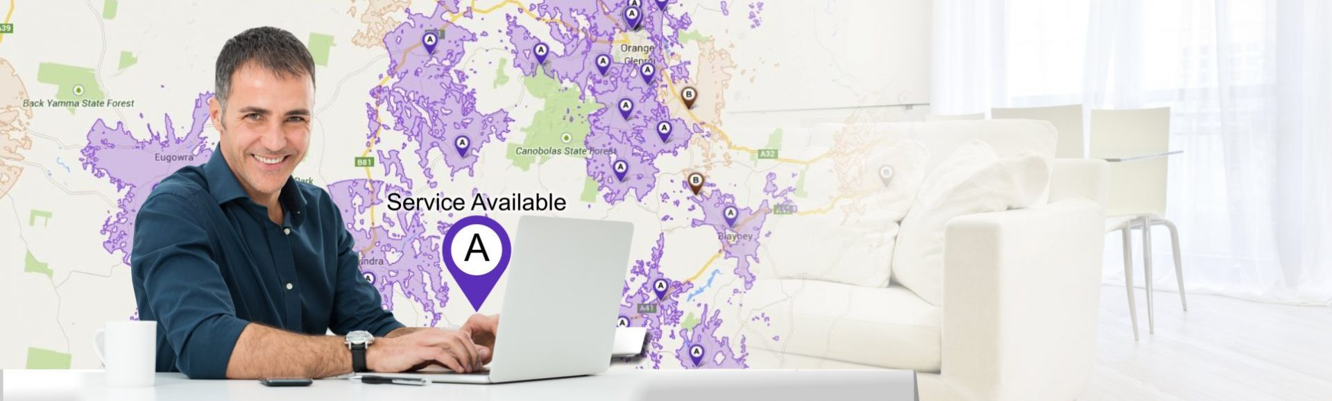 The NBN is here! Check Your Availability: